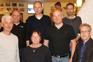 Der aktuelle Kulturlant-Vorstand (v.l.): Hermann Efferz, Thomas Weber, Wilma Binzenbach, Lieven Schoorens, Peter Rieck, Udo Rehm, Christoph Münch.